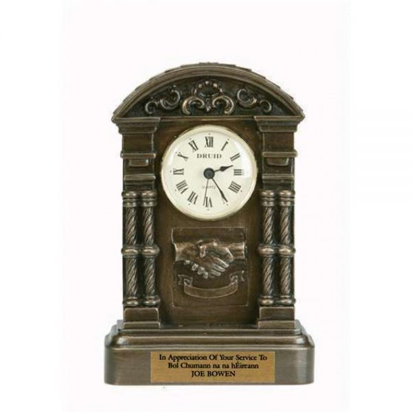 Personalised retirement clock, perfect retirement gifts or thank you gifts made in Ireland