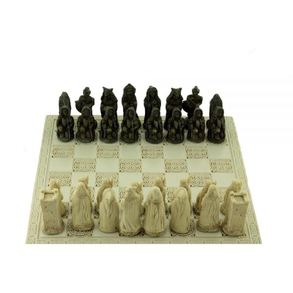 Made in Ireland chess set entitled Celtic Legends