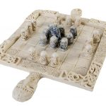 Play the ancient game of Fidchell with this Celtic Chess Set