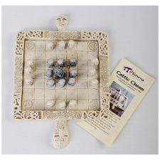Unique celtic chess set made in Ireland
