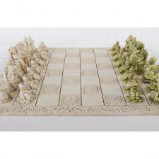 Beautiful Irish Chess Board entitled Little Folk