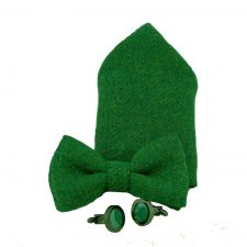 Green Tweed Accessories Gift Set