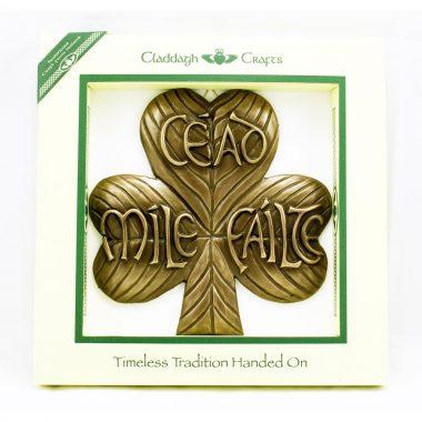 Shamrock cead mile failte Irish gifts made in Ireland