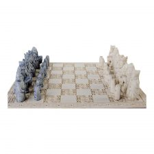 The famous Isle of Lewis Chess board
