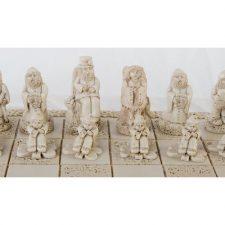 Beautiful white piece of the Little Folk Chess Set