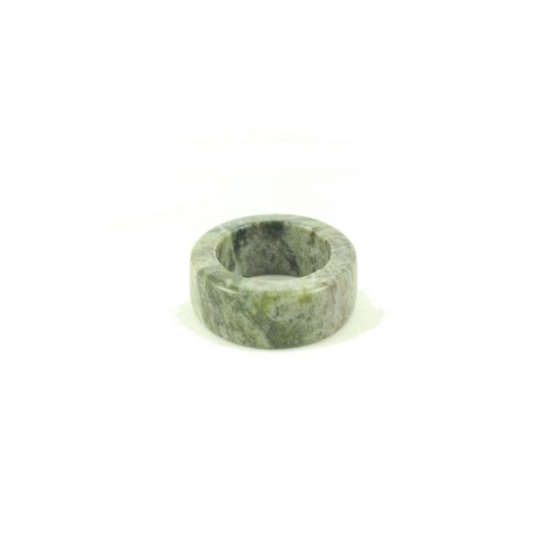 Connemara Marble Napkin Ring by Hennessy & Byrne, Ireland