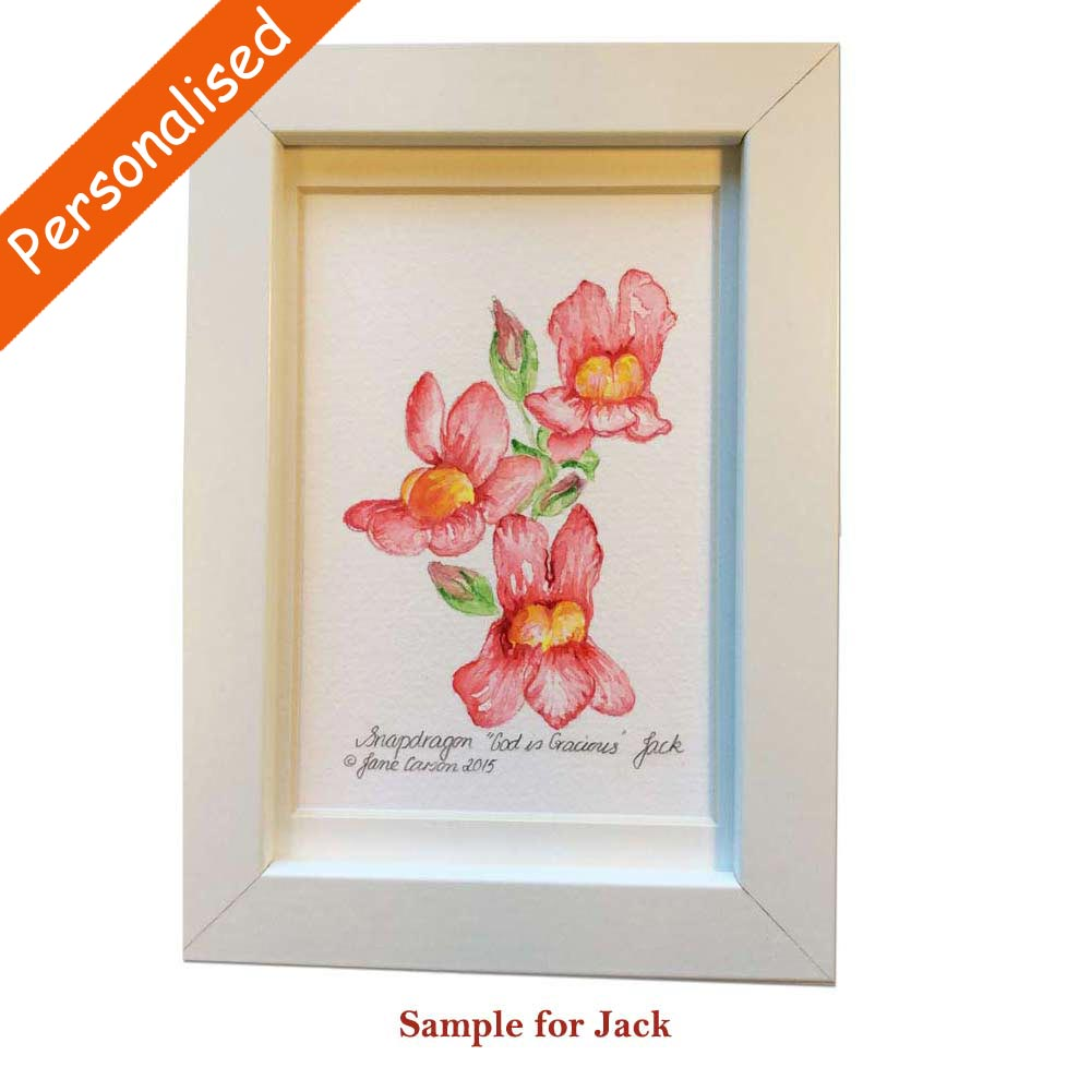 Personalised Floral Art Totally Irish Gifts