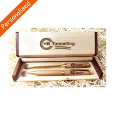 Personalised Pen and Letter Opener Gift Set, handmade in Ireland by Donegal Pens