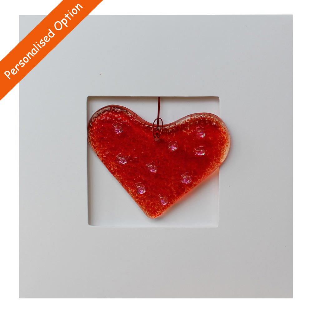 Red Heart Card Totally Irish Gifts