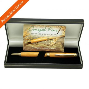 Yew Stylus pen handcrafted in Ireland, option to personalise