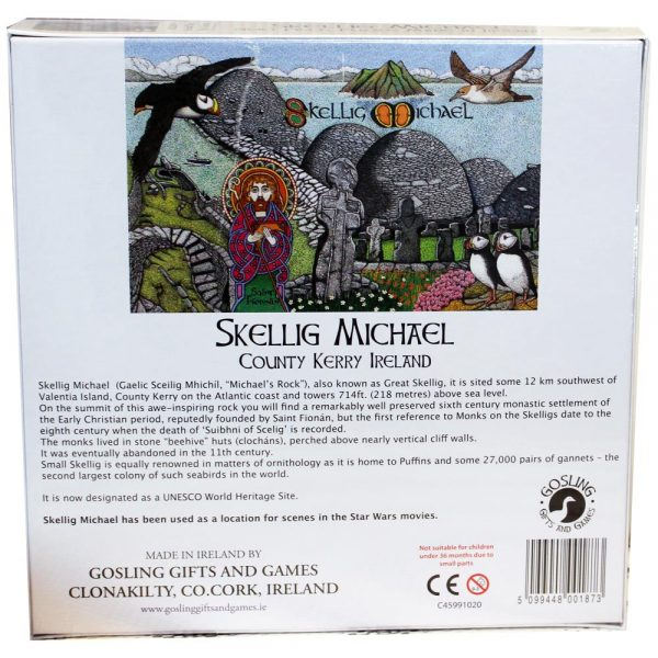 Skellig jigsaw made in Ireland