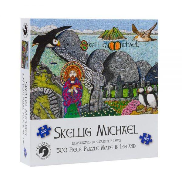 Skellig Michael jigsaw made in Ireland