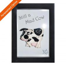 Perfect gift for a mad friend, handmade from clay in Co Kilkenny, Ireland