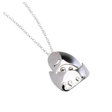 Quality Voyage Medium Silver Pendant, designed and made in Ireland by Garrett Mallon