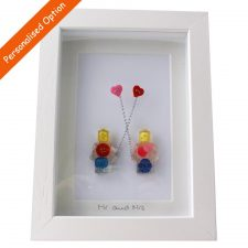 Mr & Mrs Buttons, handmade in Ireland, unique wedding gifts Ireland