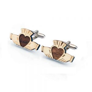 Claddagh Cufflinks handmade in Ireland