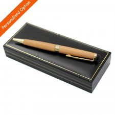 Personalised Pen, cherry wood, handcrafted in Ireland