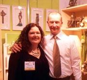 Audrey & Les, Rynhart Bronze Fine Art Gifts, Ireland