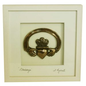 Claddagh Ring Bronze Art made in Ireland