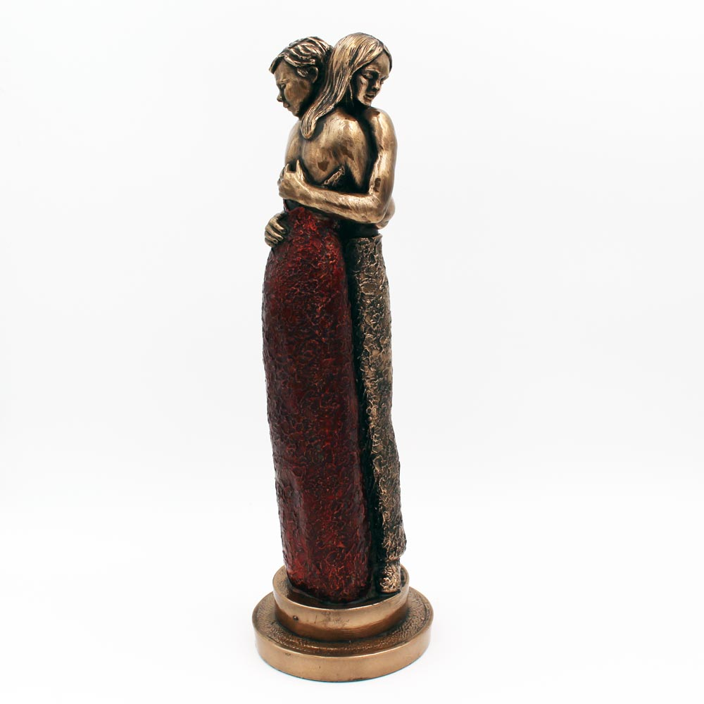 A Ghrá Mo Chroí Bronze Statue, Gifts Made In Ireland By