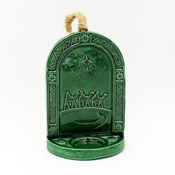Wise Men sconce, christmas tealight holder made in Ireland