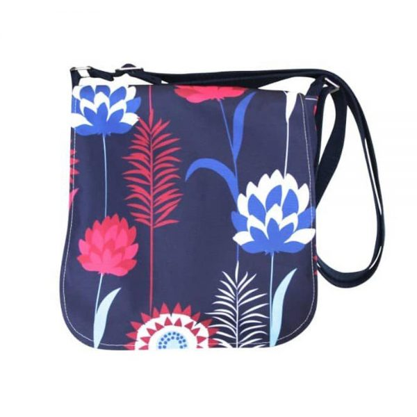 Shower Proof Bag Ireland, gifts from Ireland, made of showerproof material with denim inner