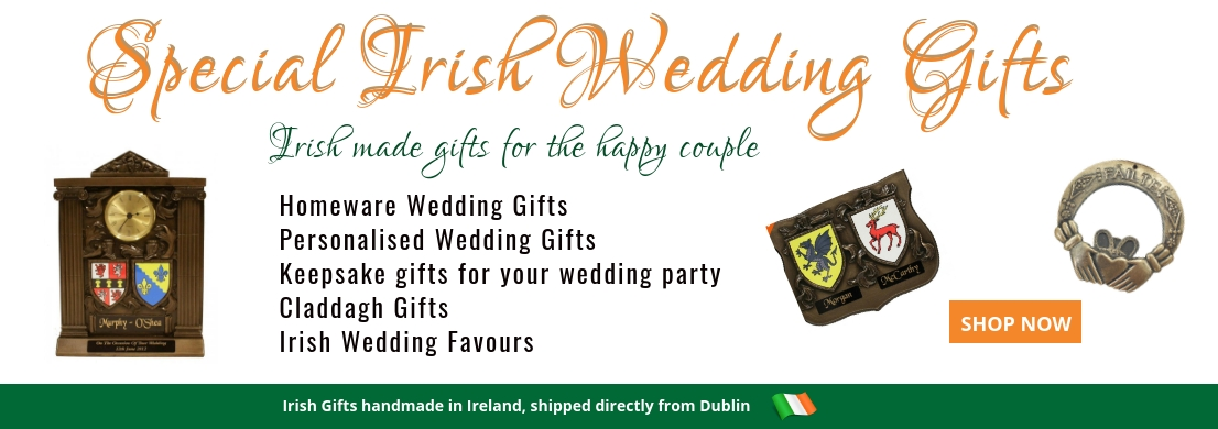 irish wedding gifts