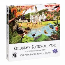 Irish Jigsaw Killarney, 500 piece jigsaw of Killarney National park, made in Ireland