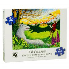 Cu Chulainn Puzzle for ages 6 up, made in Ireland