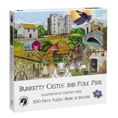 Bunratty Castle jigsaw puzzle, 500 piece, made in Ireland