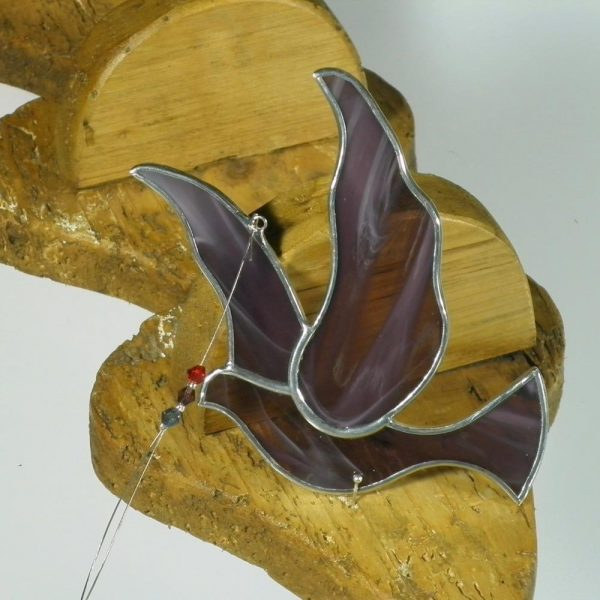 Purple Dove Confirmation Gifts Ireland, stained glass gifts