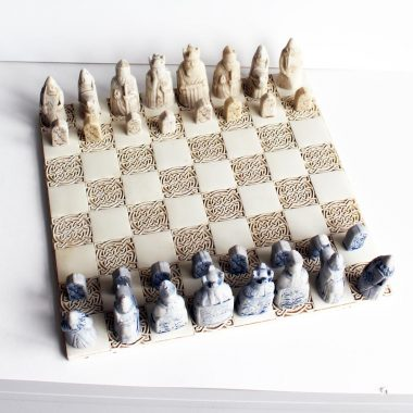 Isle of Lewis Chess Set handmade in Ireland