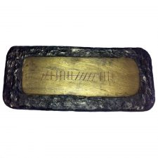 Ogham Thank You Plaque, Retirement gifts Ireland