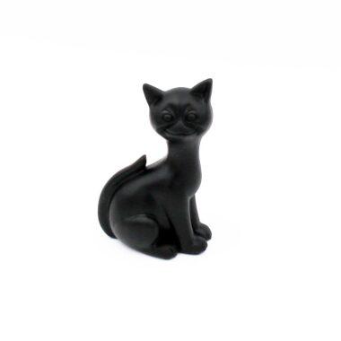 Lucky Black Bog Cat, Irish turf gifts made in Ireland