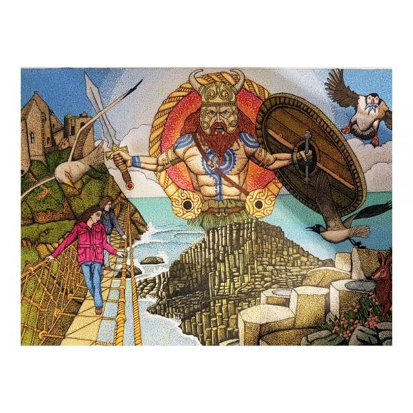 Giants Causeway Jigsaw Puzzle made in Ireland