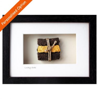 Lucky Sods Framed Turf Gifts handmade in Ireland by Bog Buddies