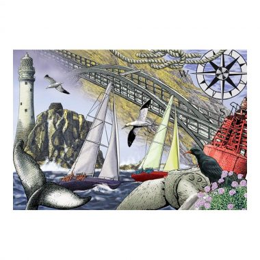 Mizen Head Jigsaw Puzzle made in Ireland