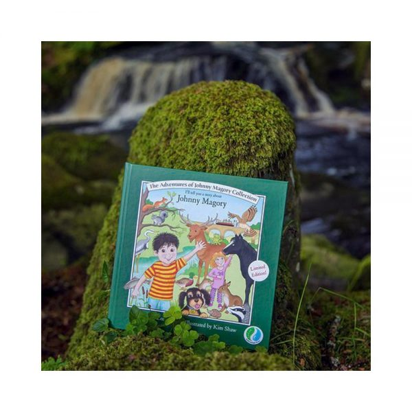 Johnny Magory Limited Edition Book Collection signed by the author, suitable for boys and girls. suggested up to 8 years of age