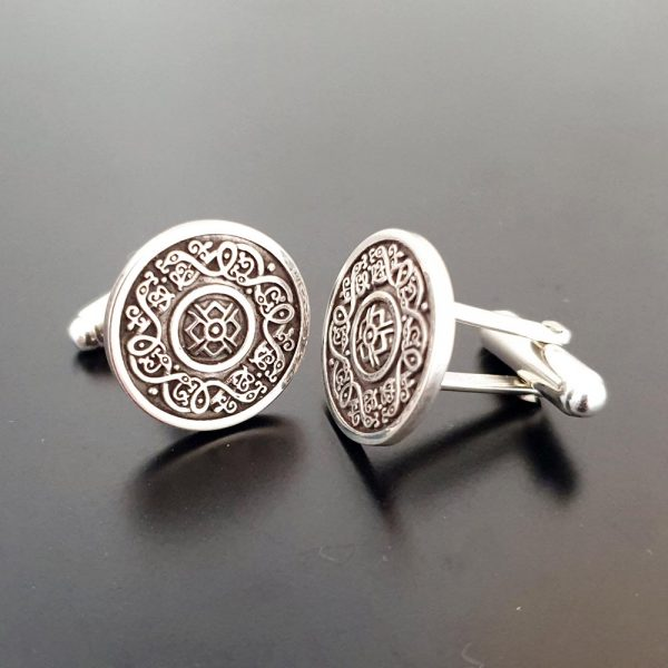 Ardagh Silver Cufflinks handmade in Ireland by Arnua Jewellery, gifts for men