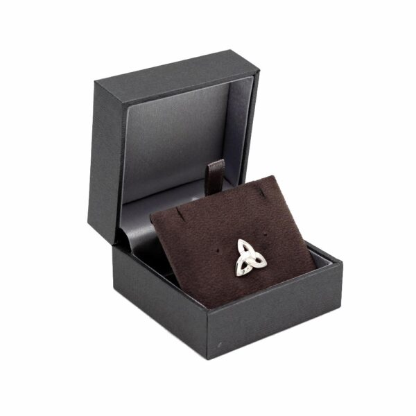 Trinity Knot Silver Tie Pin gifts from Ireland