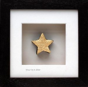 You're a Star, framed turf gift by Bog Buddies, made in Ireland