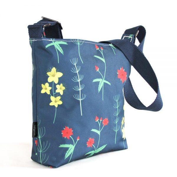 Sallyann Small Cross Body Bag red burren, gifts for women, handmade bags ireland