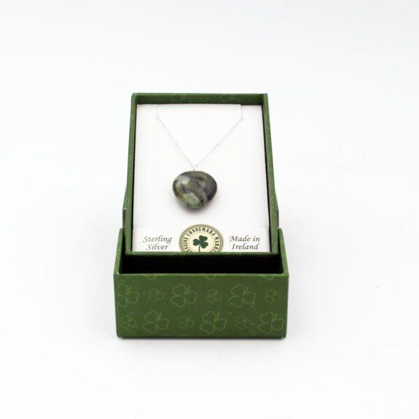 Connemara Marble Heart Pendant