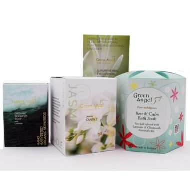 Jasmine gift set to relax and unwind, made in Ireland by Green Angel
