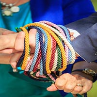 Handfasting, an Irish Wedding Tradition of Tying the Knot