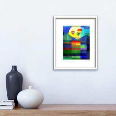 'Explore. Dream. Discover' Framed Inspirational Print