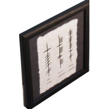 Ogham gift Love Happiness Laughter
