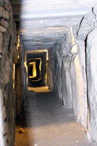 Inside passage Newgrange